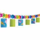 Paperilyhtykoristein somistettu juhlanauha