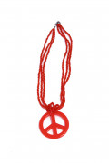 Punainen hippikaulakoru