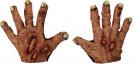 Aikuisen zombien käsineet halloweeniin