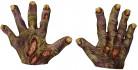 Zombin kädet - Halloweenkäsineet aikuisille