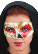 Venetsialainen naamio punakulta