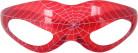 Punaiset hämähäkkilasit seittikuviolla ja valotoiminnolla