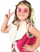 Lasten kermanvalkoinen kukkaseppele