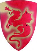 Lohikäärme kilpi punainen