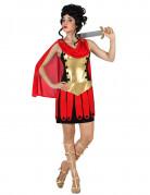 Roomalaisnainen kullanvärisessä pansarissa - Naamiaisasu aikuiselle