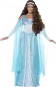Sininen prinsessa-asu aikuisille
