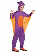 Miesten violetti dinosauruspuku