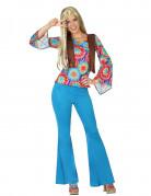 Sininen kellokukka - Naisten hippiasu