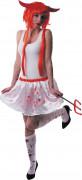 Verinen valkoinen alushame naisille - Halloween