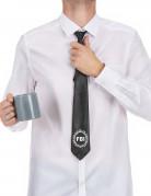 Poliisin musta kravatti aikuiselle