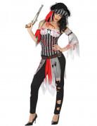 Naisten Verinen merirosvo Halloween asu