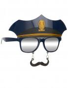 Aikuisten poliisilasit ja viikset