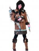 Naisten eskimo naamiaispuku