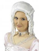 Naisten valkoinen pitsinen barokkikaulanauha