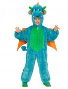 Lasten sininen lohikäärmeasu