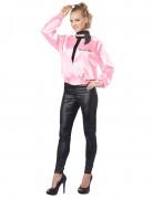 Vaaleanpunainen 50-luvun takki aikuiselle