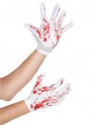 Veriset valkoiset käsineet