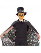 Kaksipuolinen Dia de los muertos - viitta aikuisille - Halloween