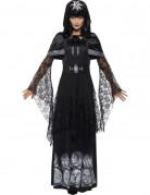 Aikuisten mustan magian valtiatar Halloween-asu