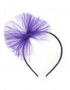 Violetti tyllirusetti panta
