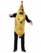 Aikuisten naamiaisasu Banaanizombi
