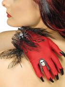 Punaiset hanskat Halloween