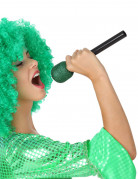 Laulajan vihreä mikrofoni